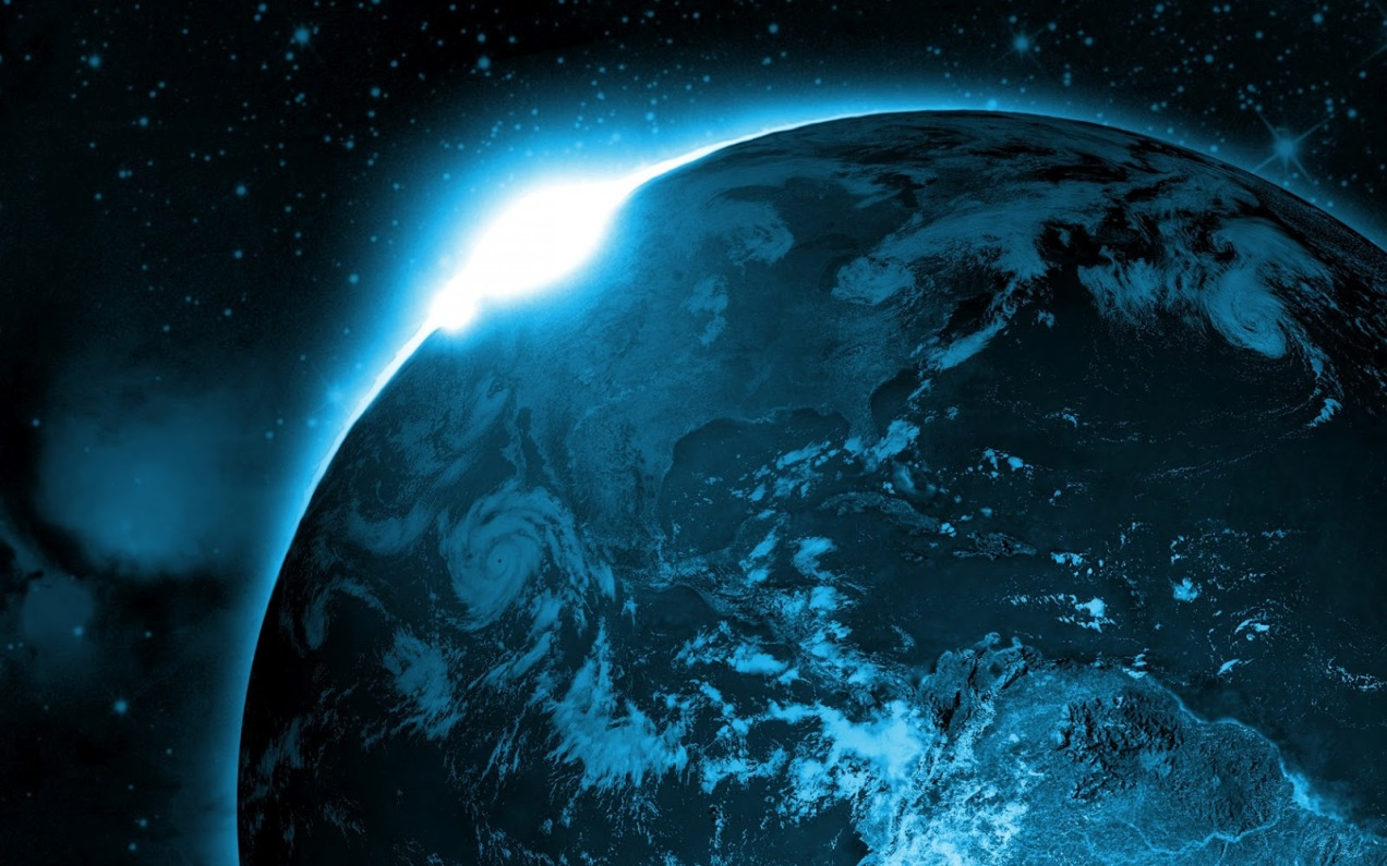 earth-space-blue-light